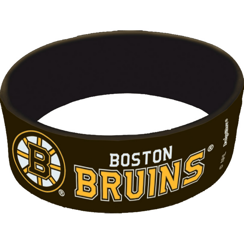 Boston Bruins Wristbands 6ct Image #1