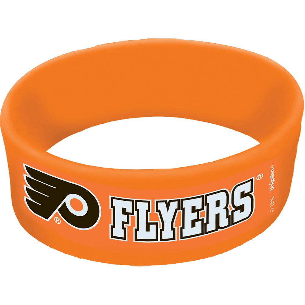 Nav Item for Philadelphia Flyers Wristbands 6ct Image #1