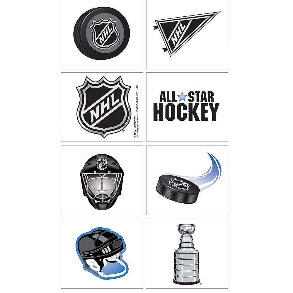 NHL Tattoos 8ct Image #1