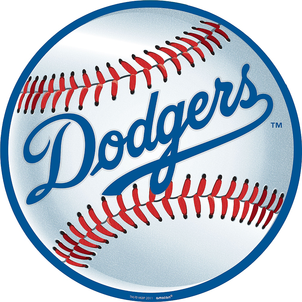 Los Angeles Dodgers Cutout Image #1