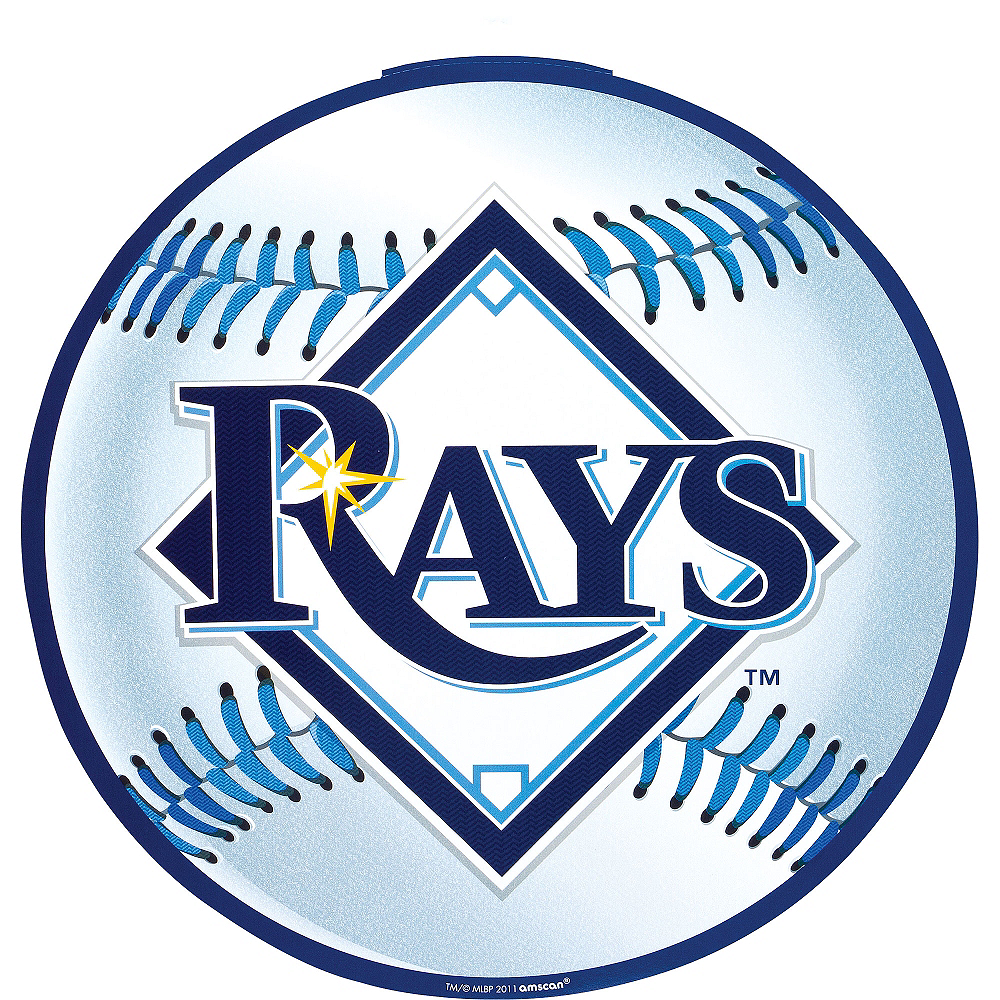 Tampa Bay Rays Cutout 12in | Party City