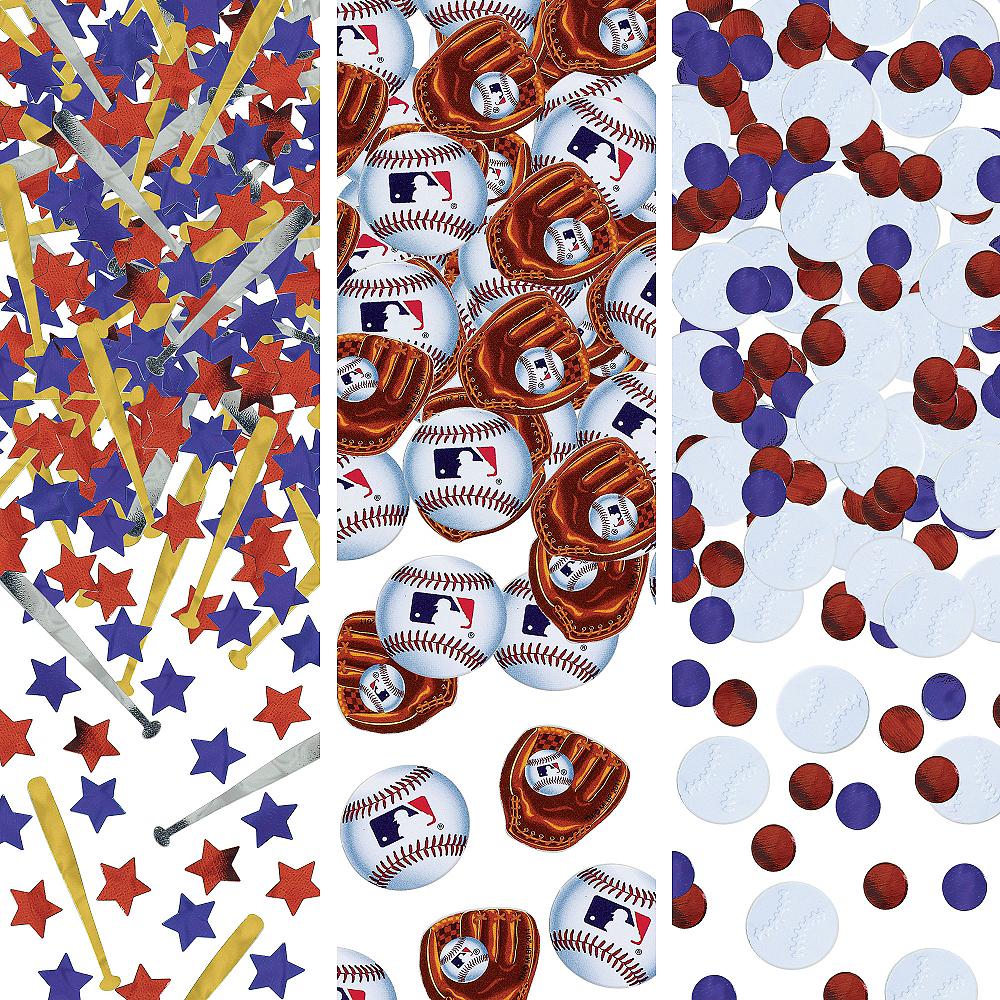 MLB Baseball Confetti Image #1