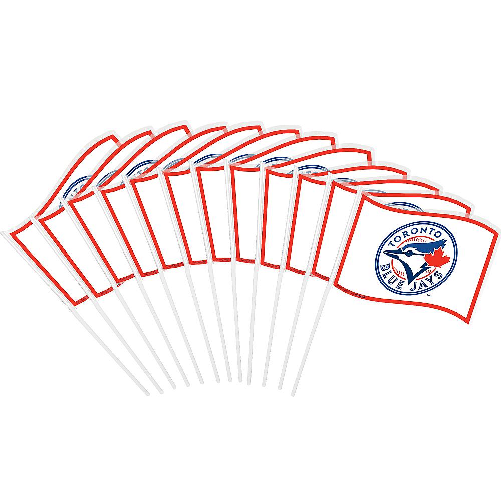 Toronto Blue Jays Mini Flags 12ct Image #1