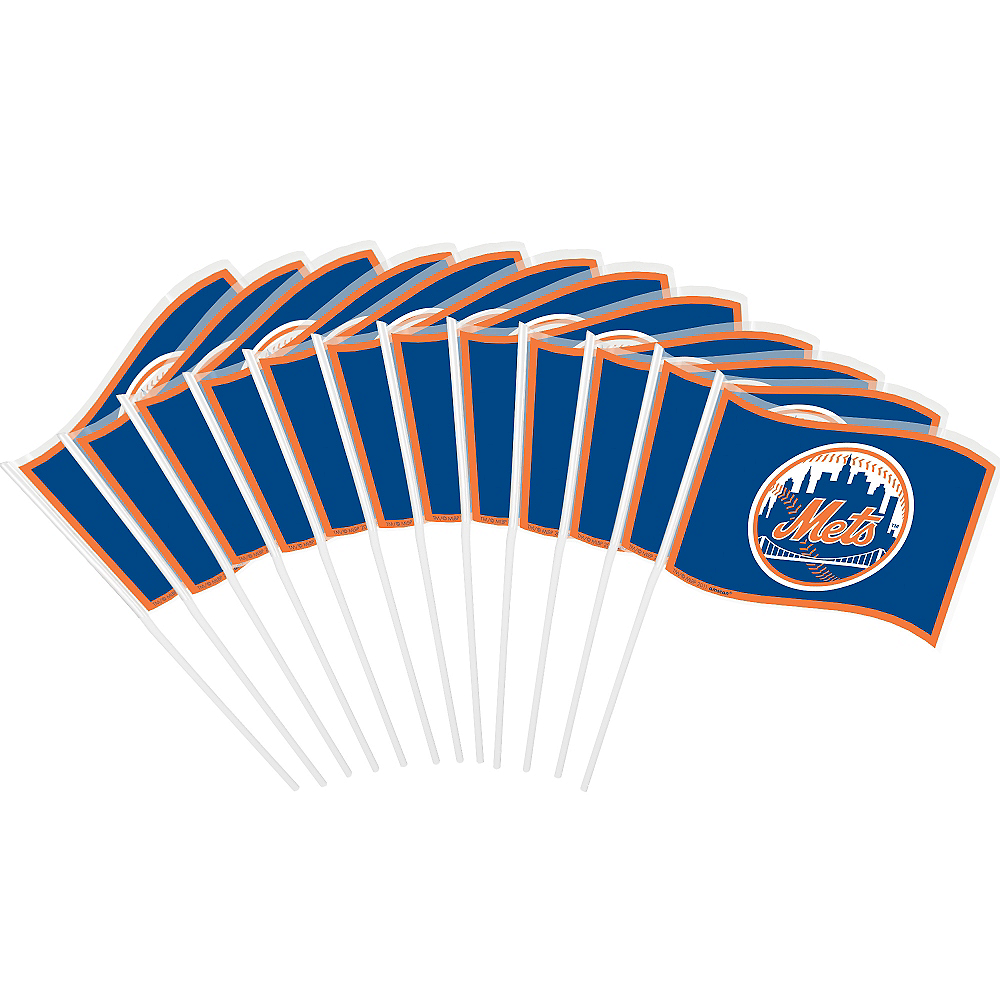 New York Mets Mini Flags 12ct Image #1