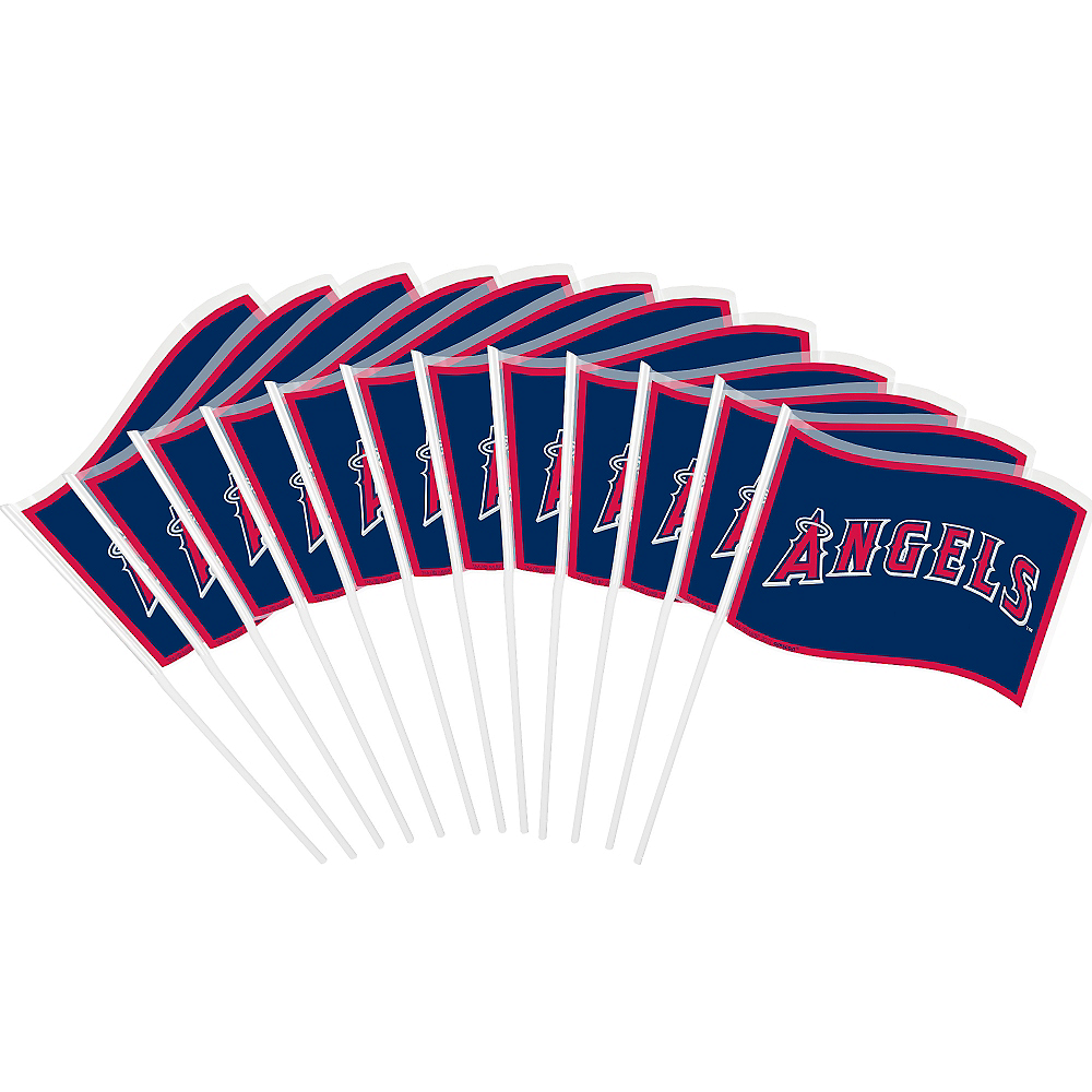 Los Angeles Angels Mini Flags 12ct Image #1