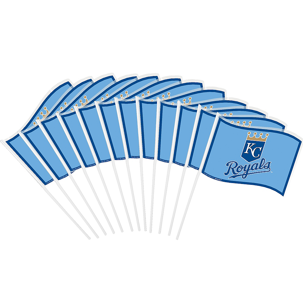 Kansas City Royals Mini Flags 12ct Image #1