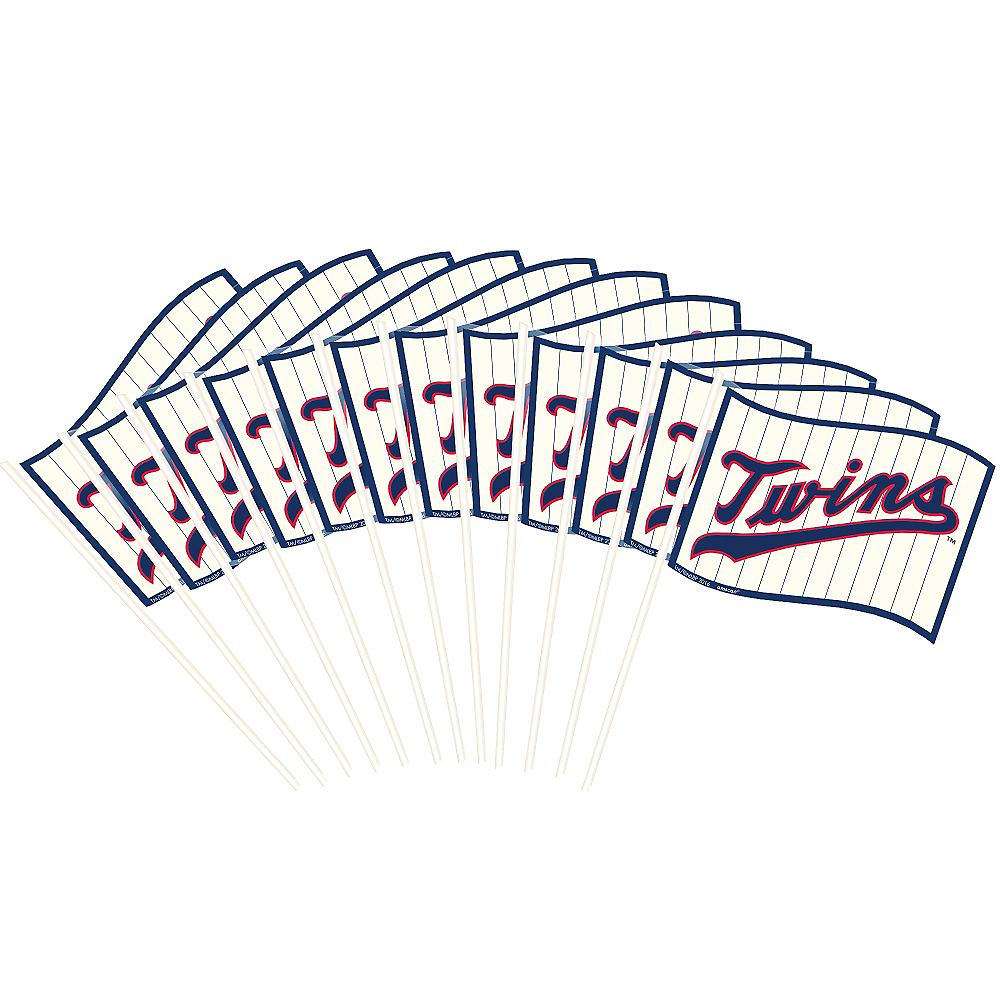 Nav Item for Minnesota Twins Flags 12ct Image #1