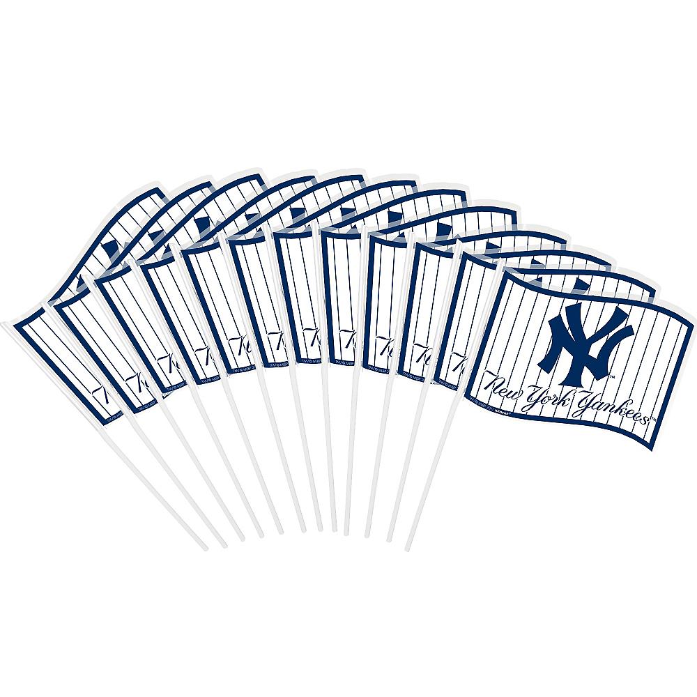 New York Yankees Mini Flags 12ct Image #1