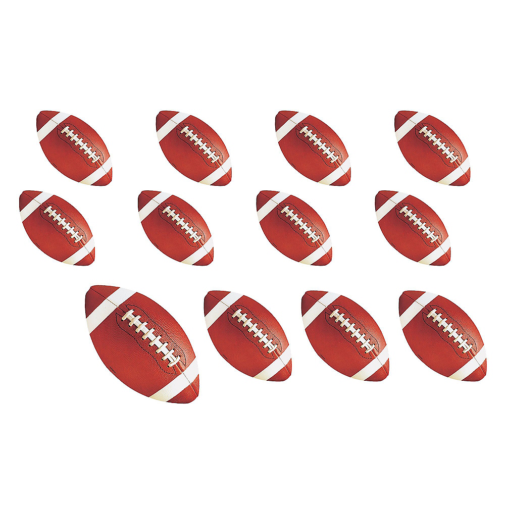 Football Cutouts 12ct Image #1