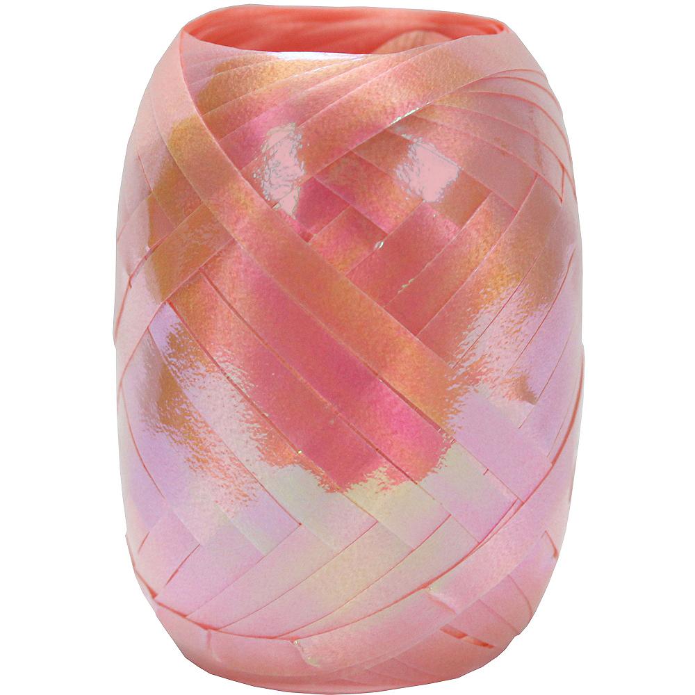 Pink Curling Ribbon Keg Image #1