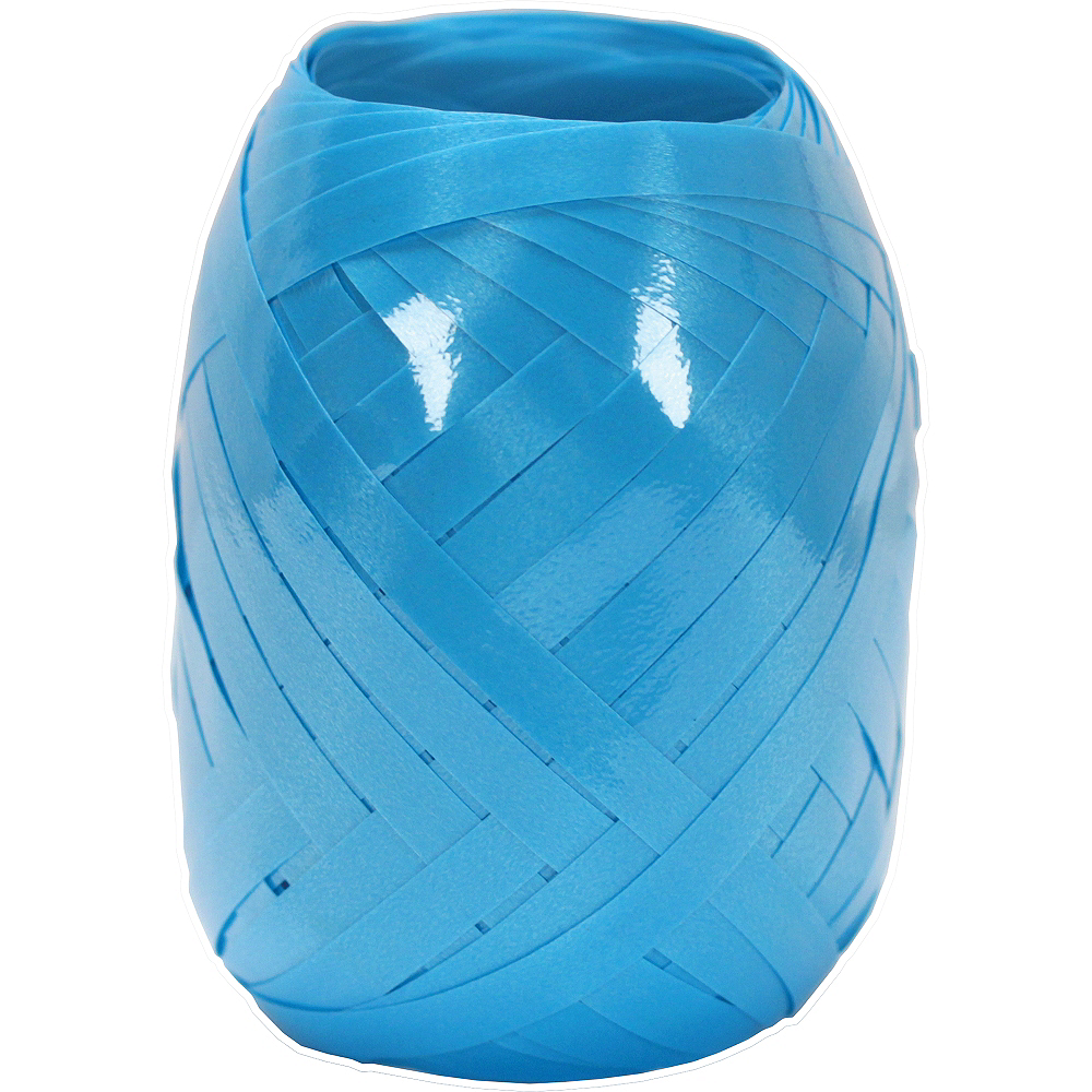 Caribbean Blue Curling Ribbon Image #1