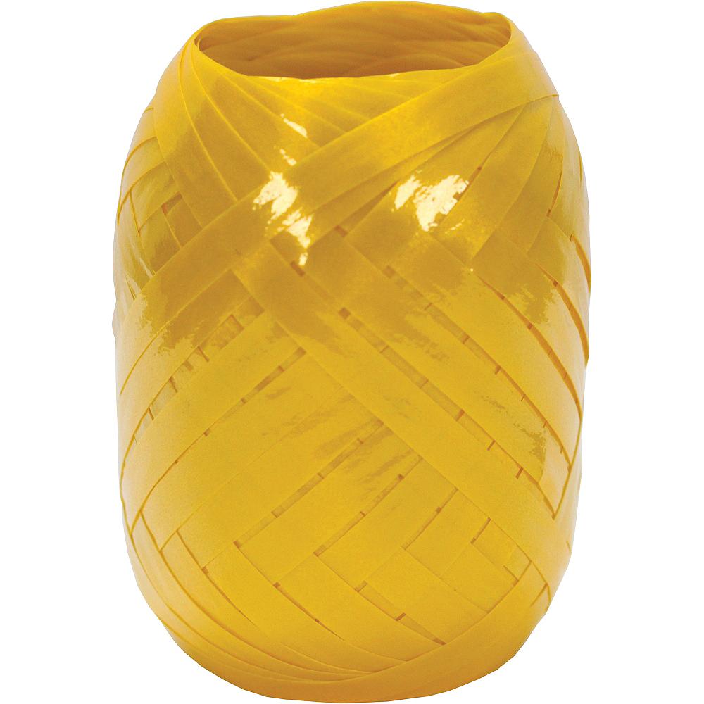 Yellow Curling Ribbon Image #1