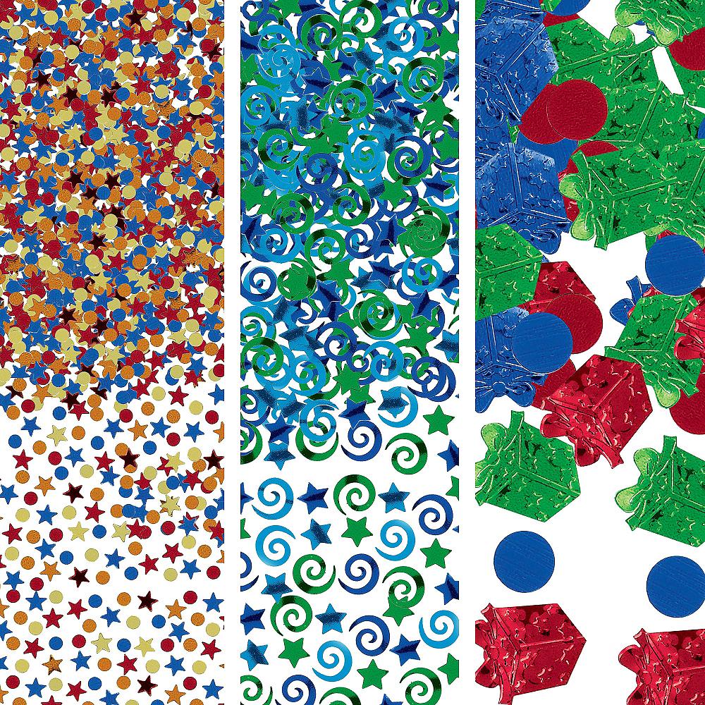Boy Birthday Confetti 1.2oz Image #1