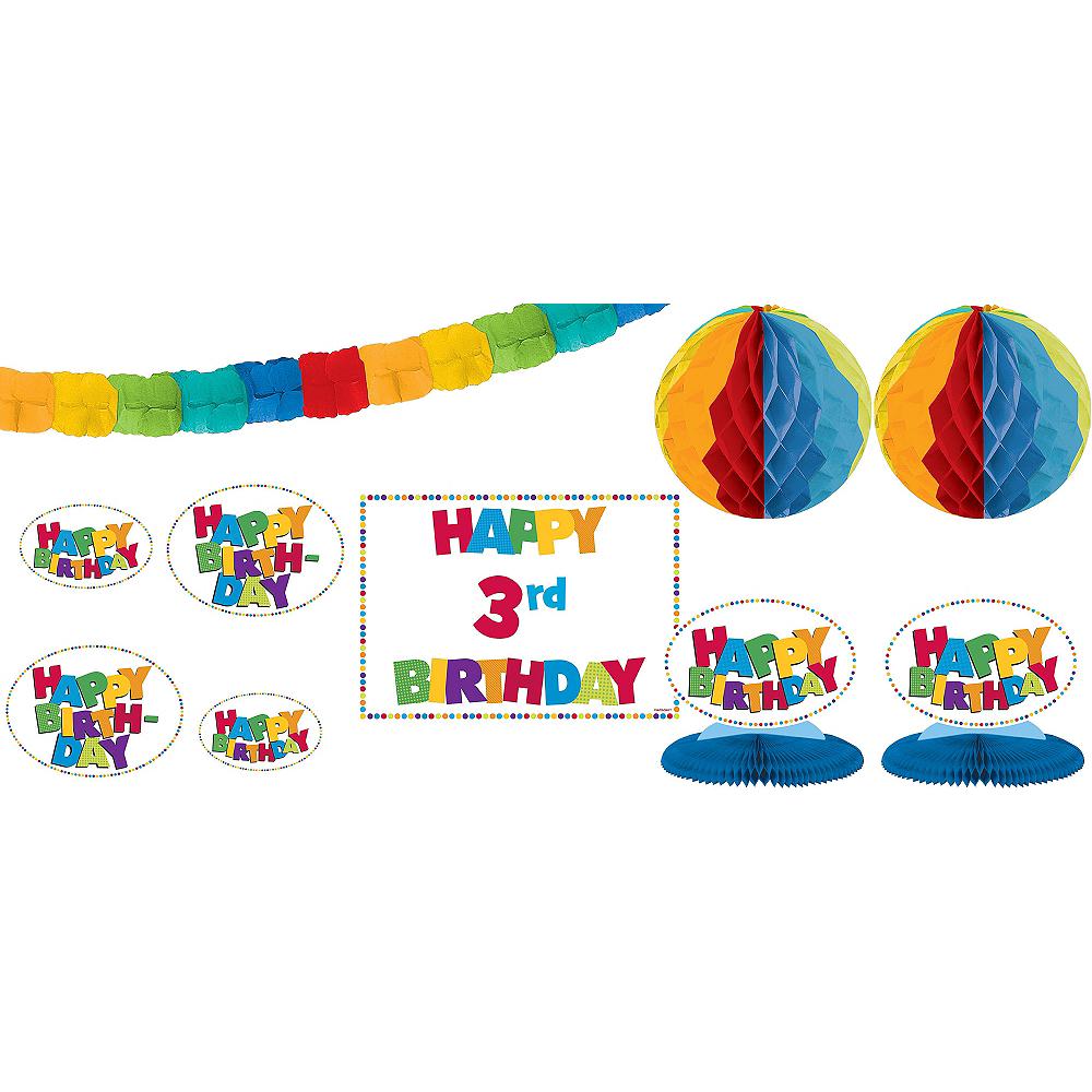 Nav Item for Add an Age Boy Birthday Decorating Kit 12pc Image #1