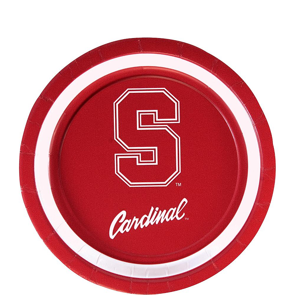 Stanford Cardinal Dessert Plates 12ct Image #1