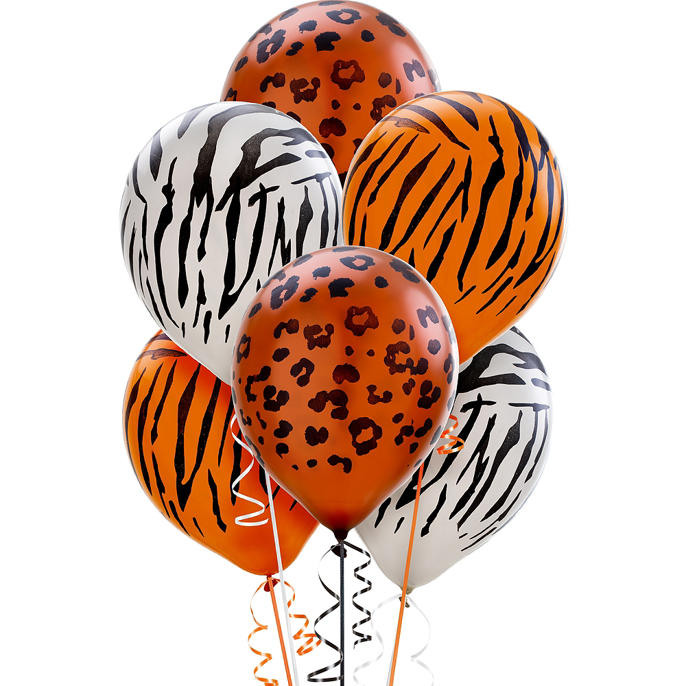 Nav Item for Animal Print Pearl Balloons 20ct, 12in Image #1