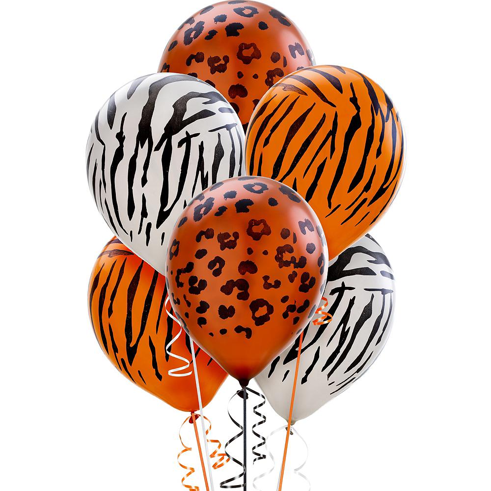 Animal Print Pearl Balloons 20ct Image #1