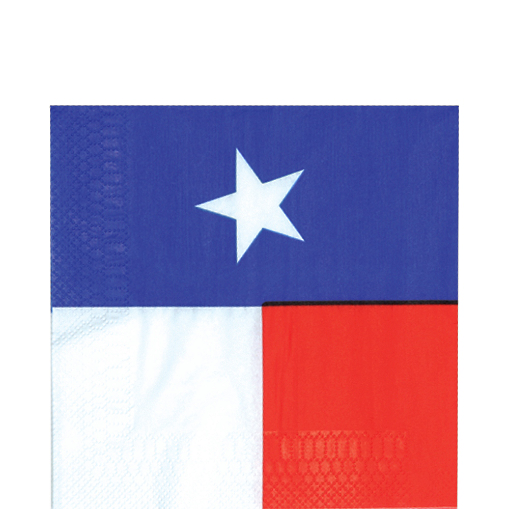Texas Flag Lunch Napkins 16ct