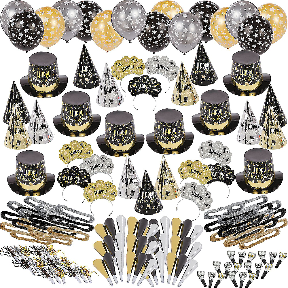 Kit For 300 - Black Tie Affair New Year's Party Kit Image #1