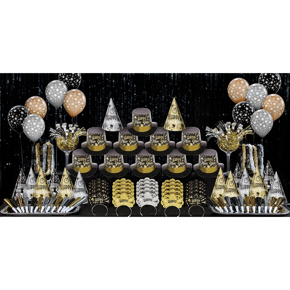 Kit For 300 - Black Tie Affair New Year's Party Kit Image #2