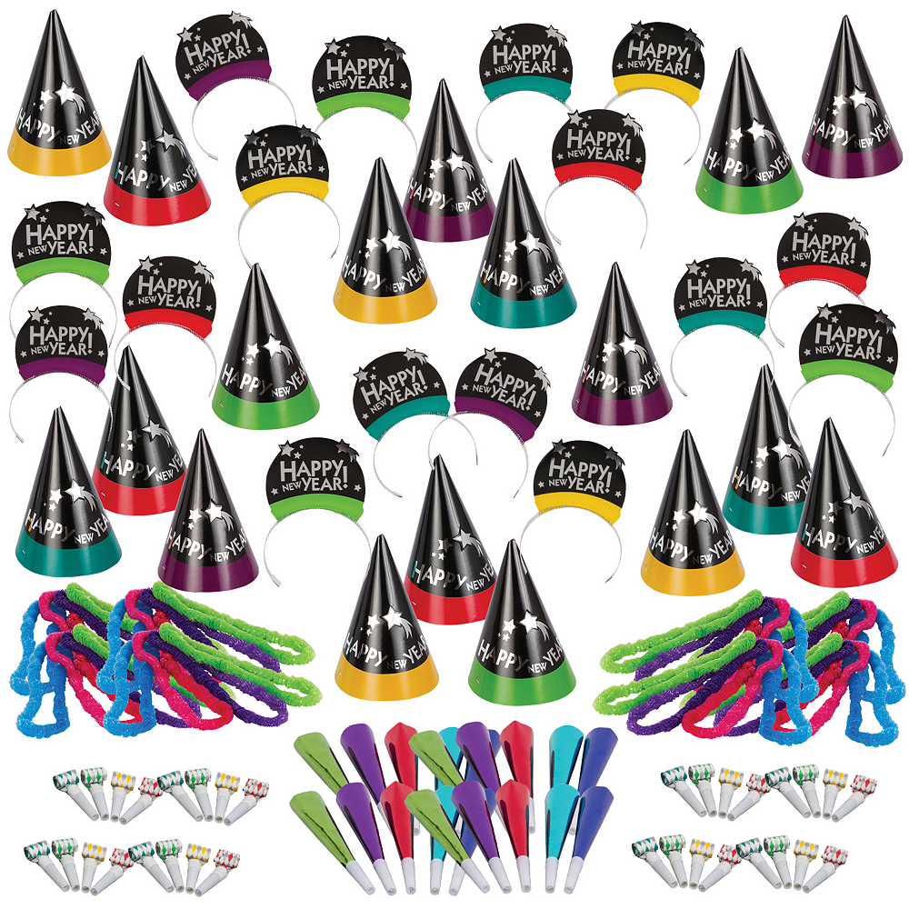Kit For 200 - Simply Stated New Year's Party Kit Image #1