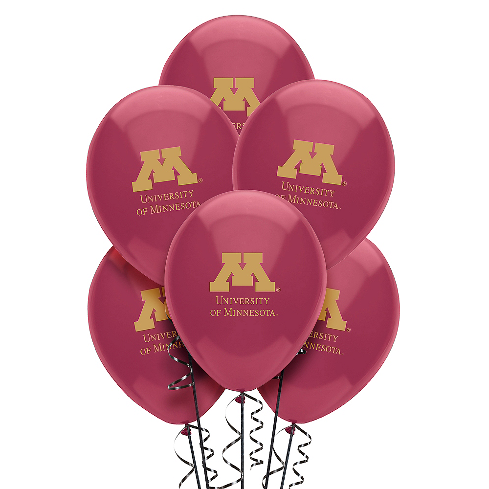 Minnesota Golden Gophers Balloons 10ct Image #1