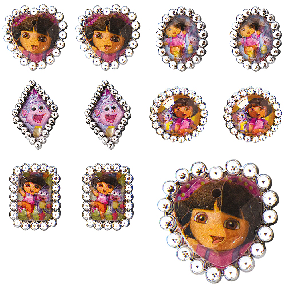 Dora the Explorer Jewel Rings 48ct Image #1