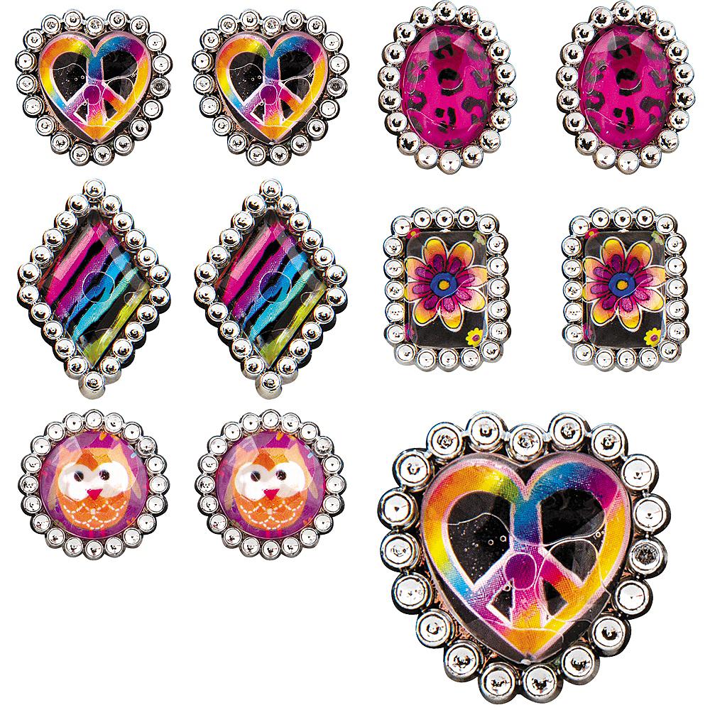 Hippie Chick Jewel Rings 48ct Image #1