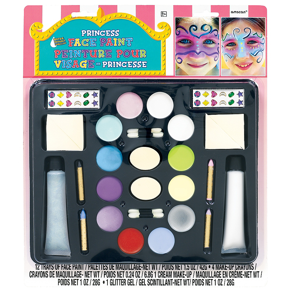 Princess Face Paint Kit Image #1