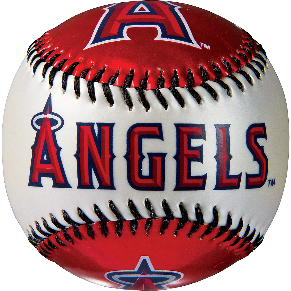 Los Angeles Angels Soft Strike Baseball Image #2