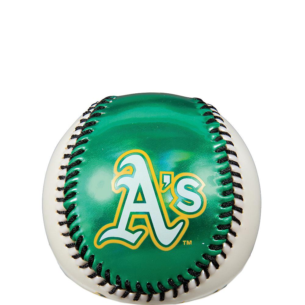 Oakland Athletics Soft Strike Baseball Image #1