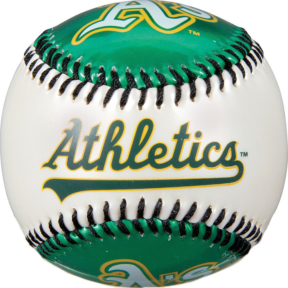 Oakland Athletics Soft Strike Baseball Image #2