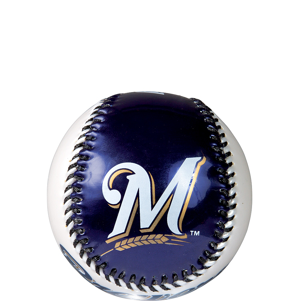Milwaukee Brewers Soft Strike Baseball Image #1