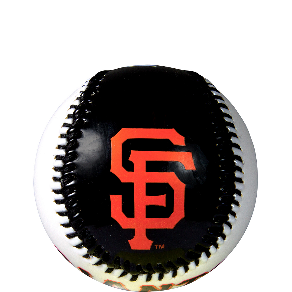 San Francisco Giants Soft Strike Baseball Image #1