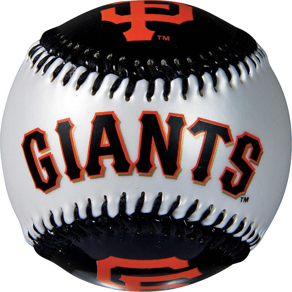 San Francisco Giants Soft Strike Baseball Image #2