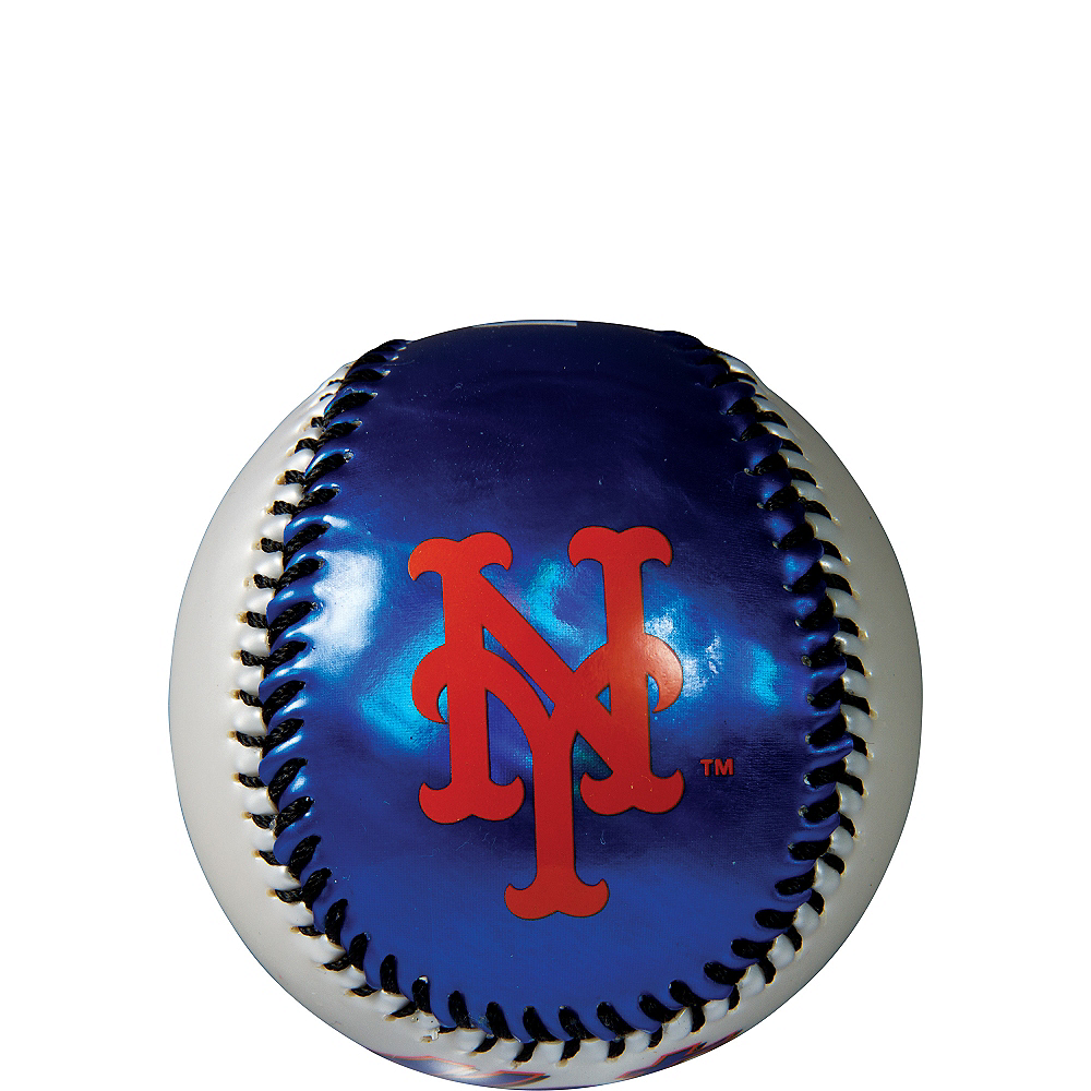 Nav Item for New York Mets Soft Strike Baseball Image #1
