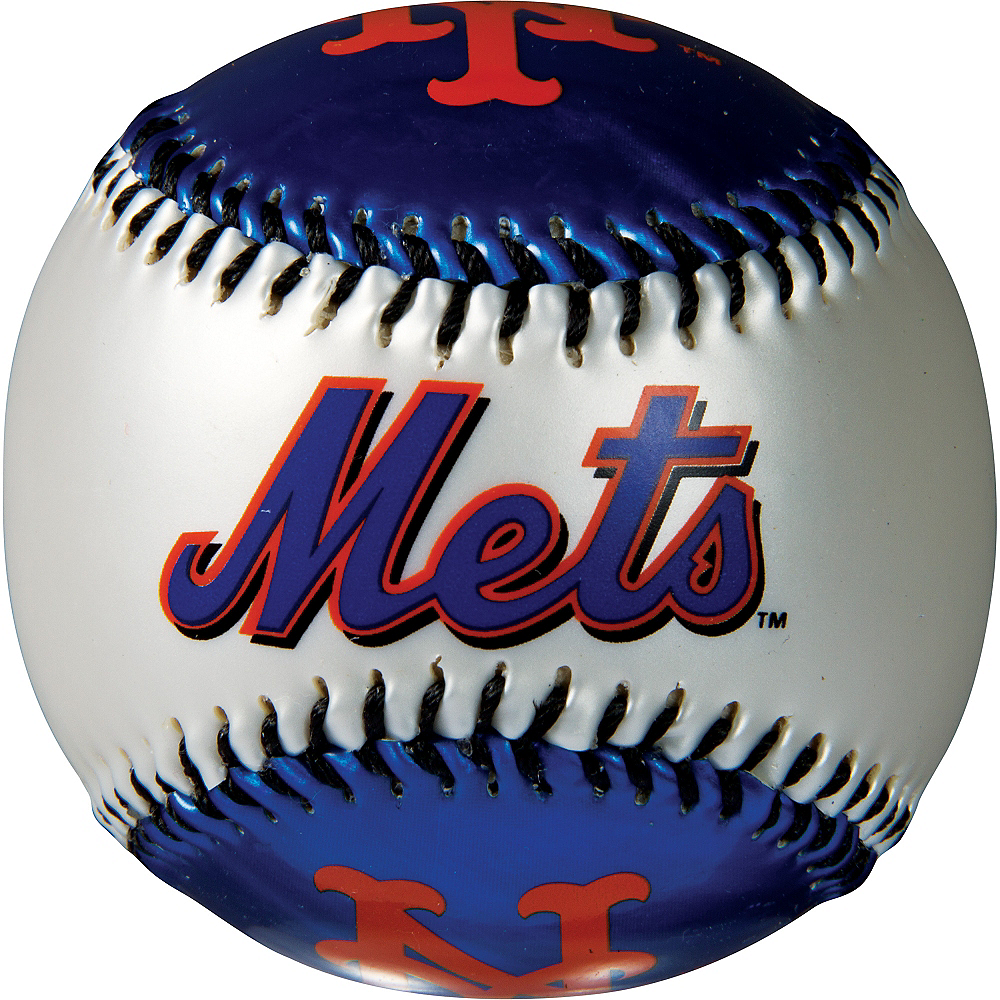 Nav Item for New York Mets Soft Strike Baseball Image #2