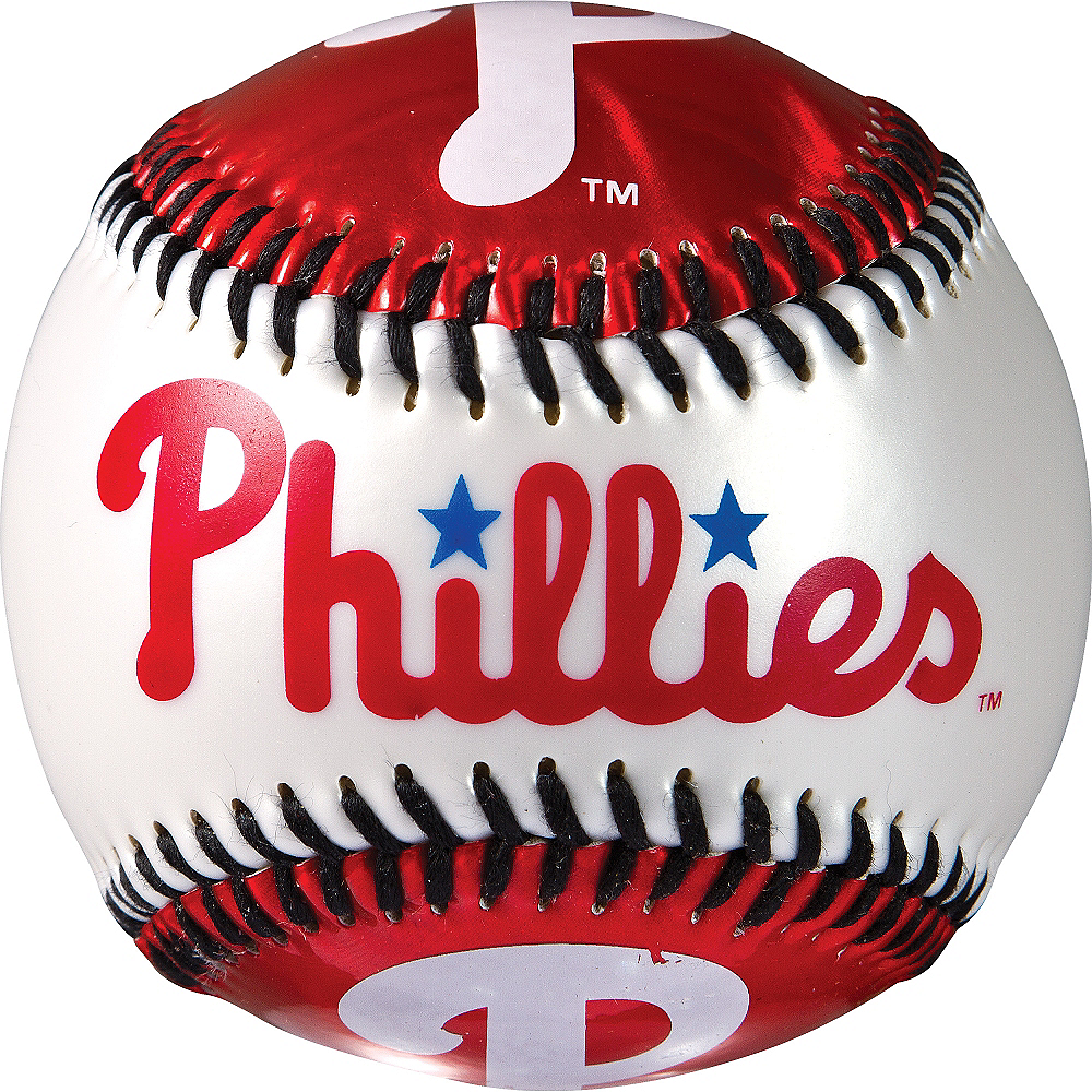 Philadelphia Phillies Soft Strike Baseball Image #2