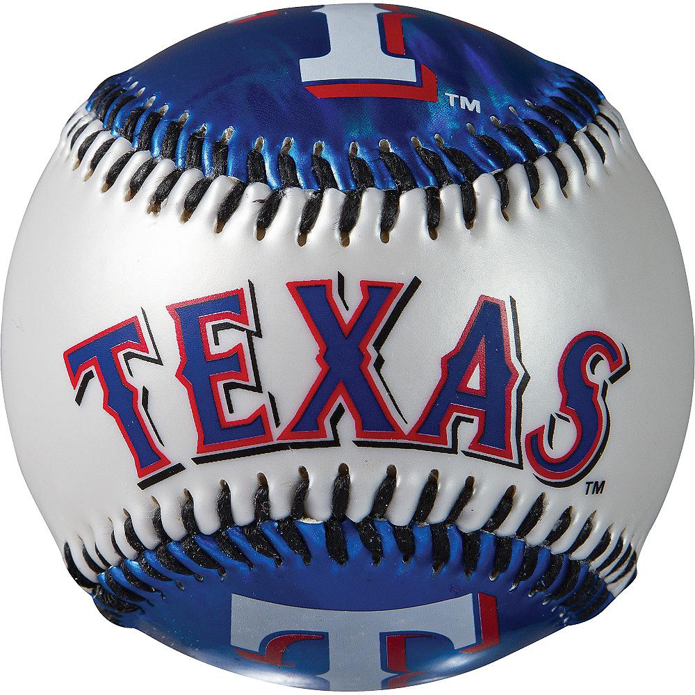 Texas Rangers Soft Strike Baseball Image #2