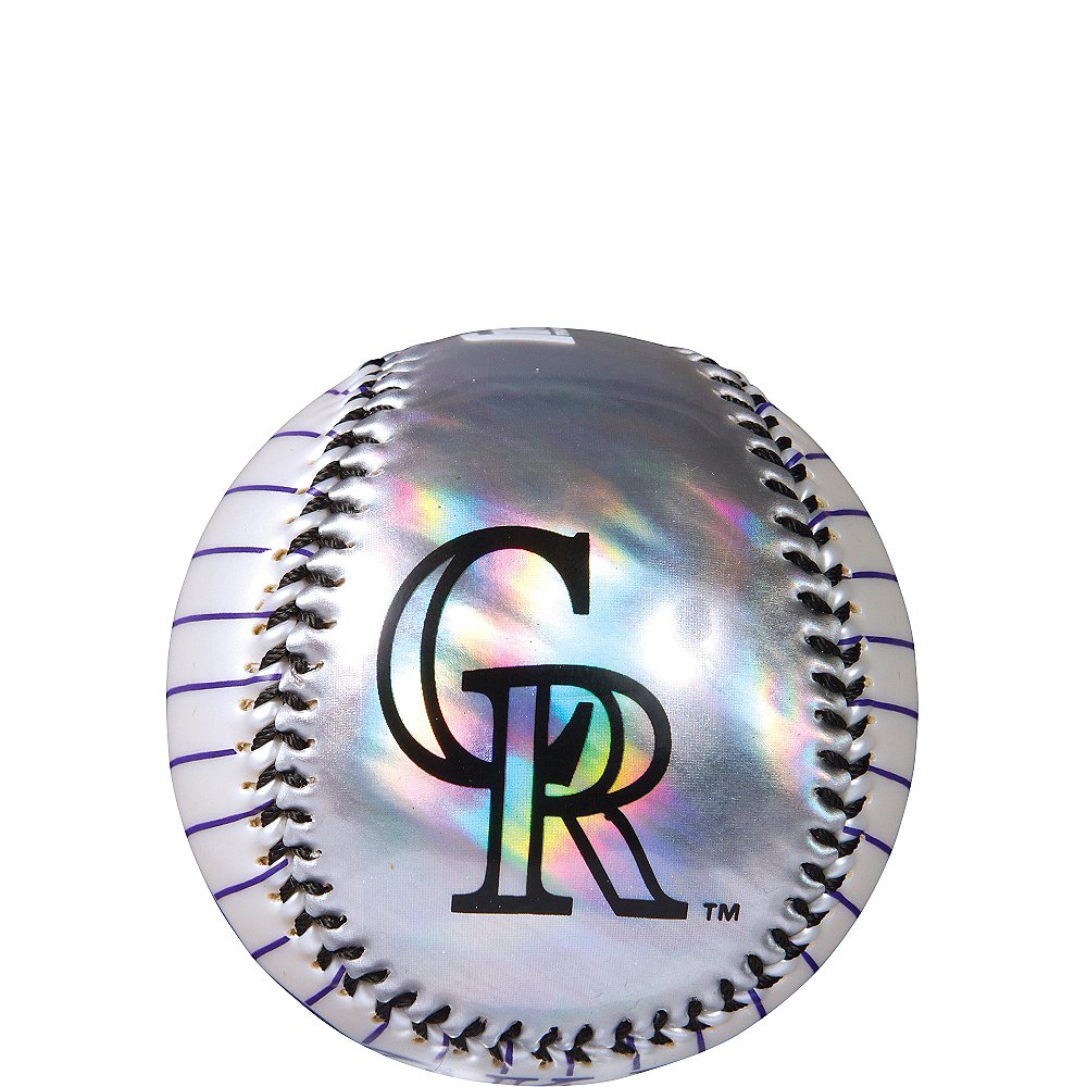 Colorado Rockies Soft Strike Baseball Image #1