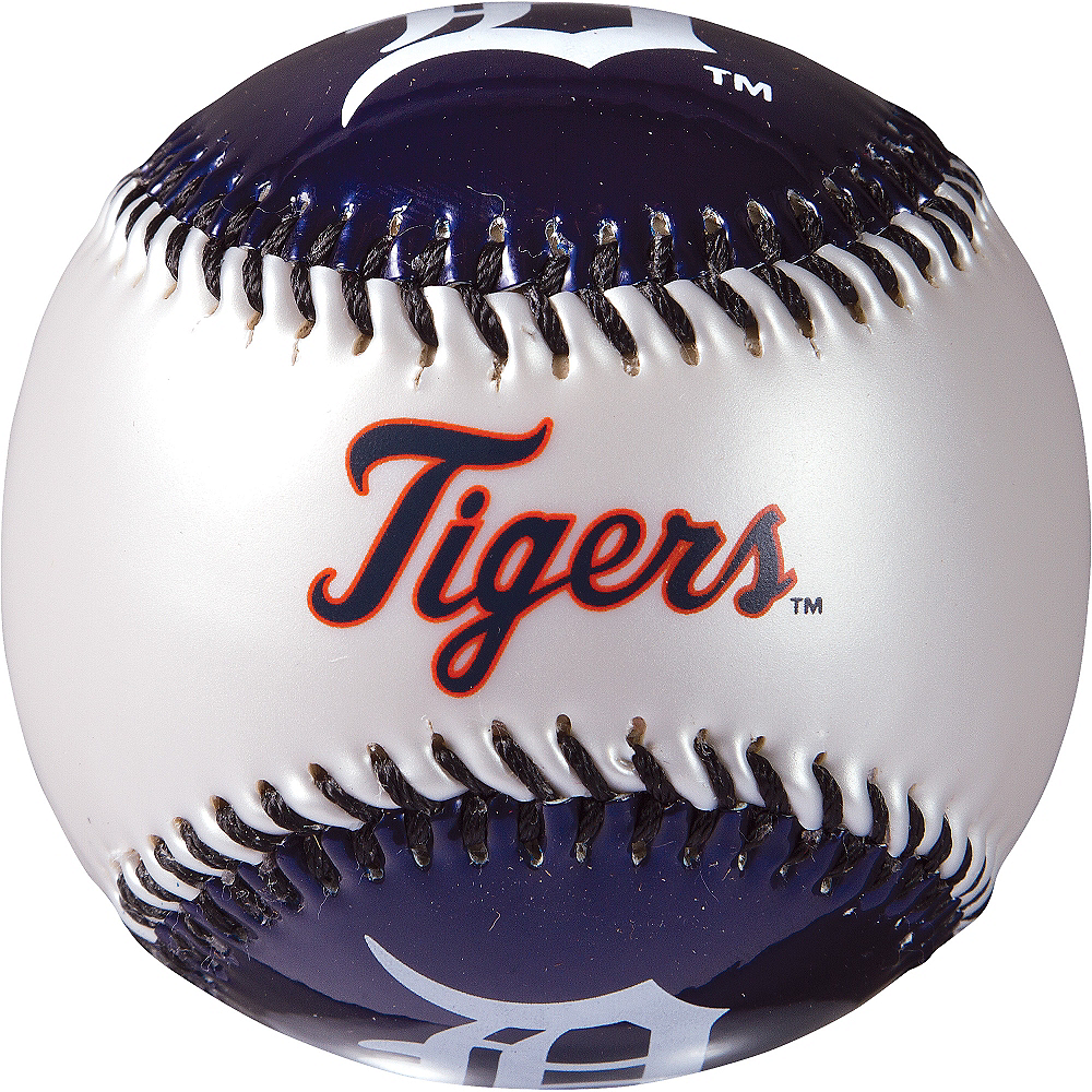 Detroit Tigers Soft Strike Baseball Image #2