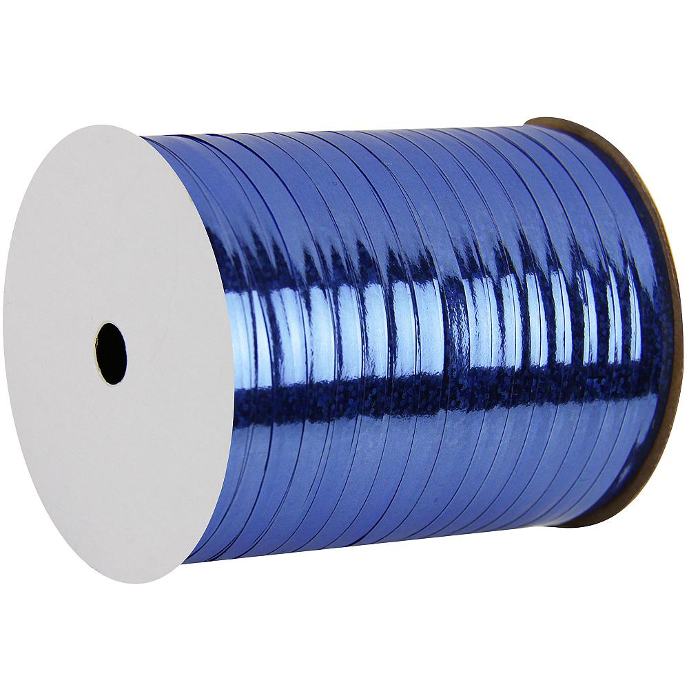 Prismatic Royal Blue Curling Ribbon Image #1