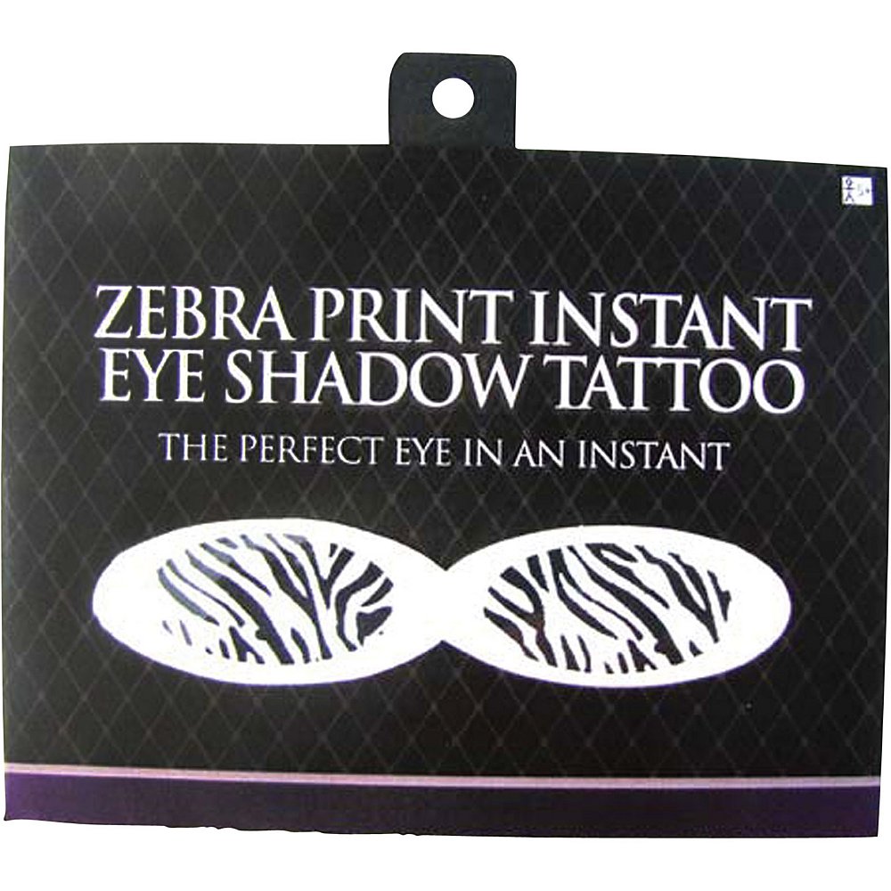 Zebra Eye Shadow Tattoos Image #2