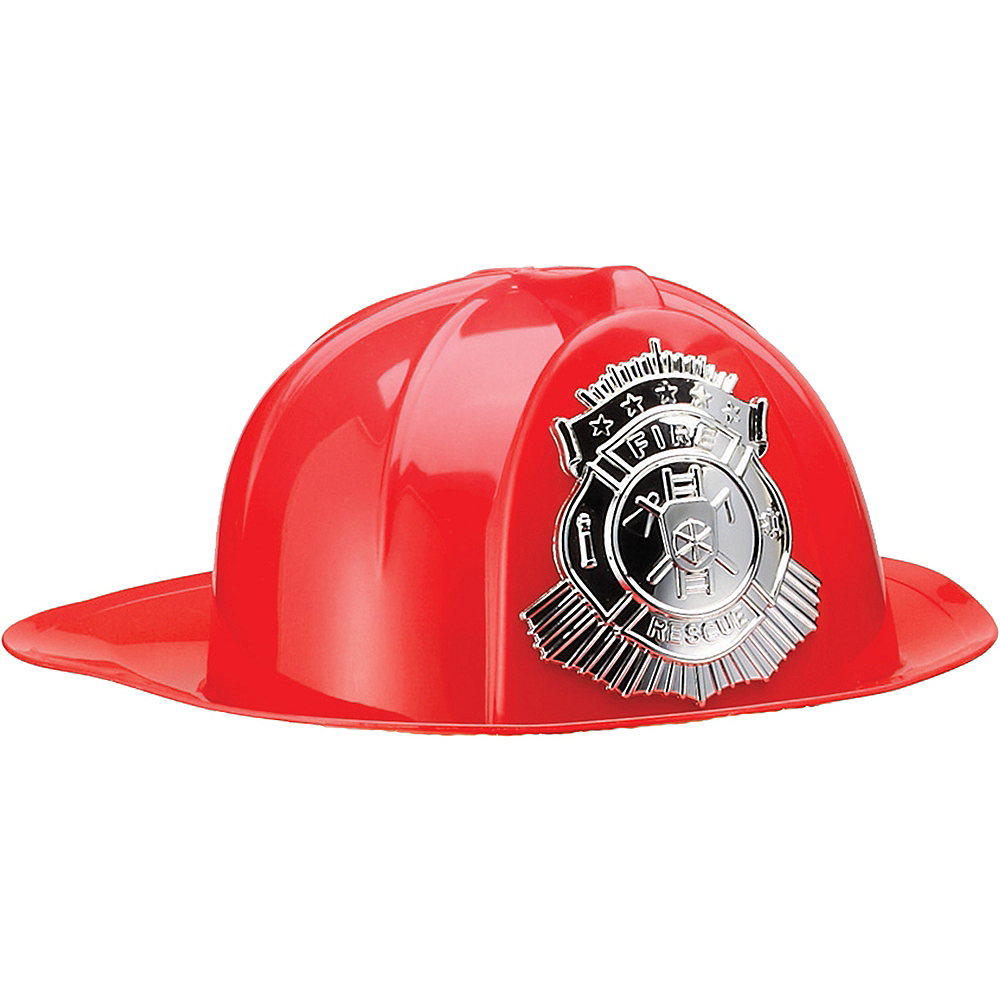 Firefighter Hat 11 3/4in x 14 1/2in | Party City