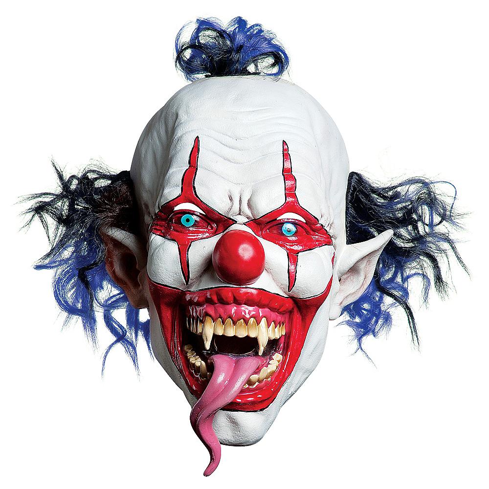 Latex Snake Tongue Clown Mask Image #1