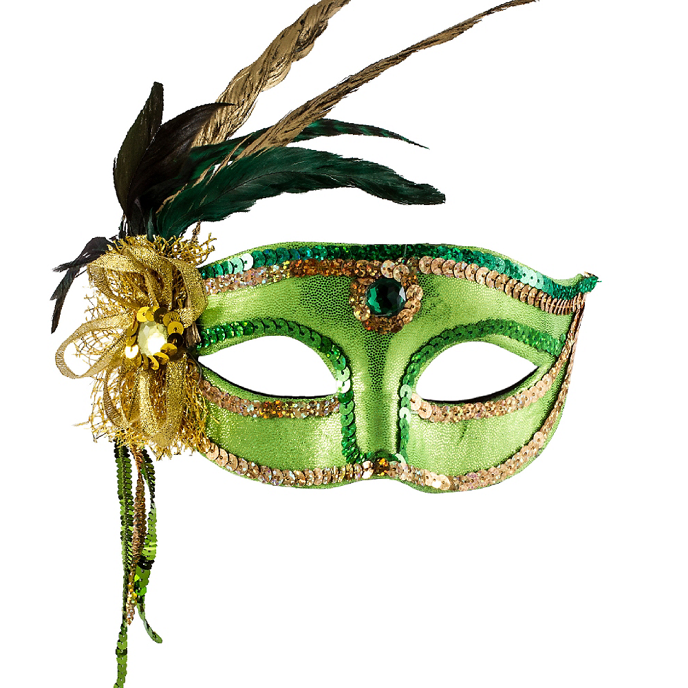 Nav Item for Woodland Fairy Feather Mask Image #1