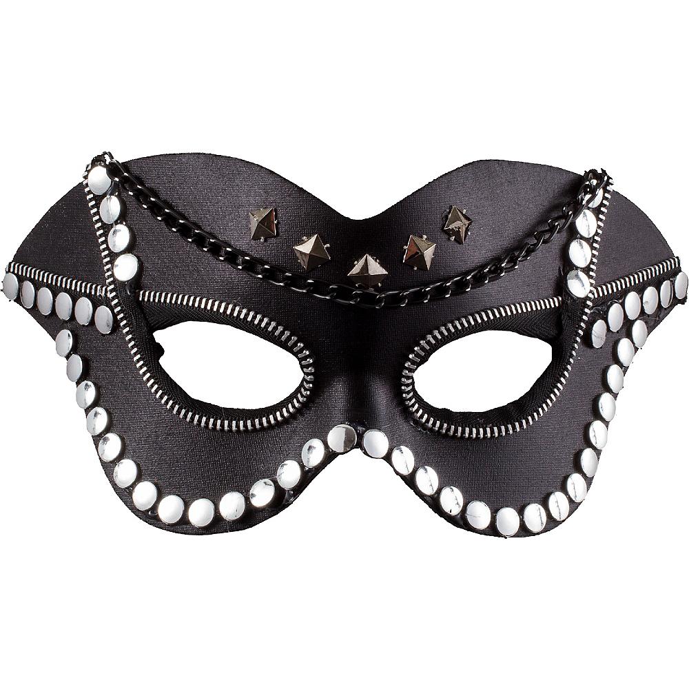 Dominatrix Masquerade Mask Image #1
