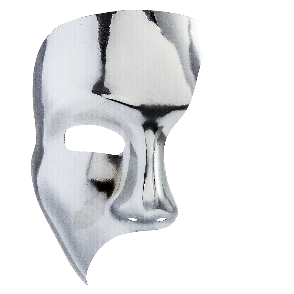 Silver Phantom Mask Image #1