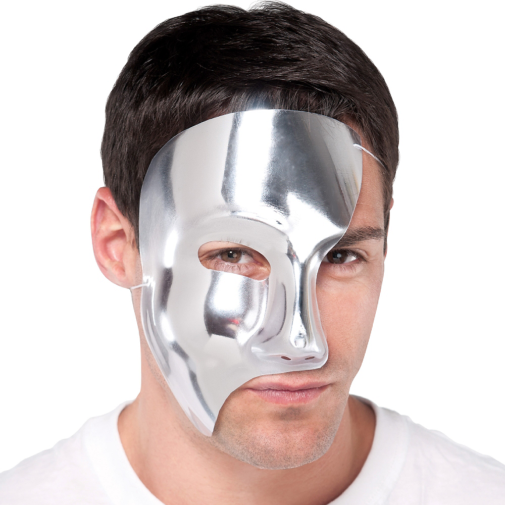 Silver Phantom Mask Image #2