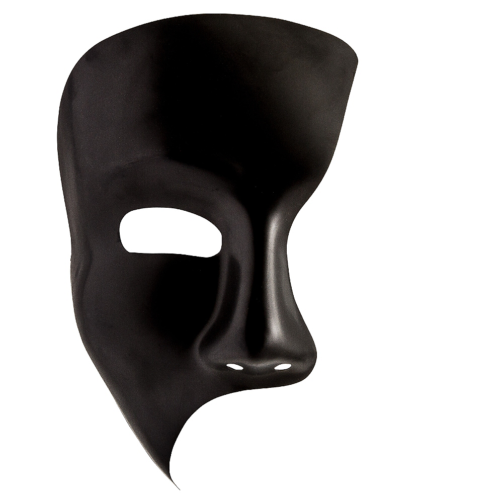 Black Phantom Mask Image #1